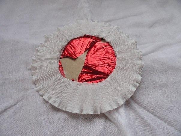 Тарталетка из конфет к 8 марта