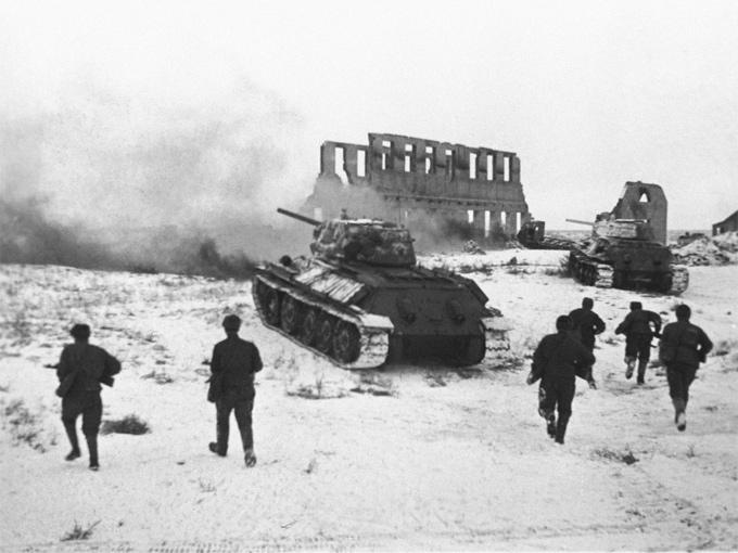 Хроника Сталинградской битвы в 3D