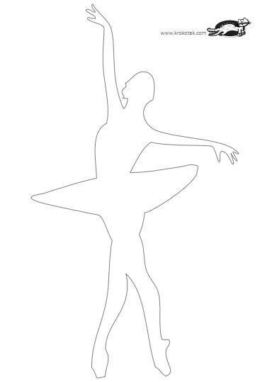 Балерины из бумаги шаблоны юбок
