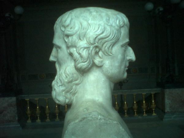 скульптура януса