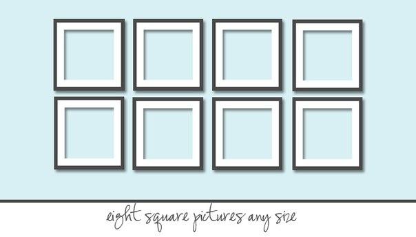 Шаблоны для узоров на стенах 4