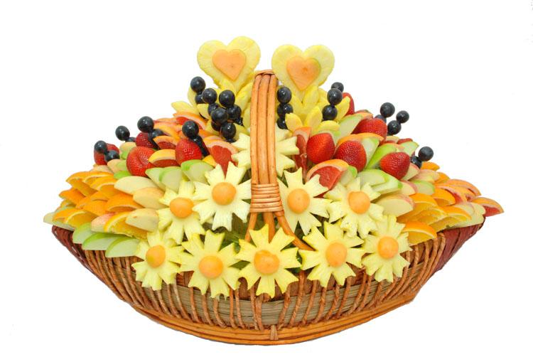 Букет из фруктов своими руками для начинающих