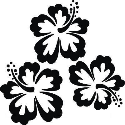 Узоры цветов трафарет