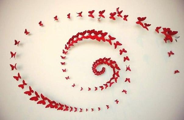 Украшение бабочками своими руками