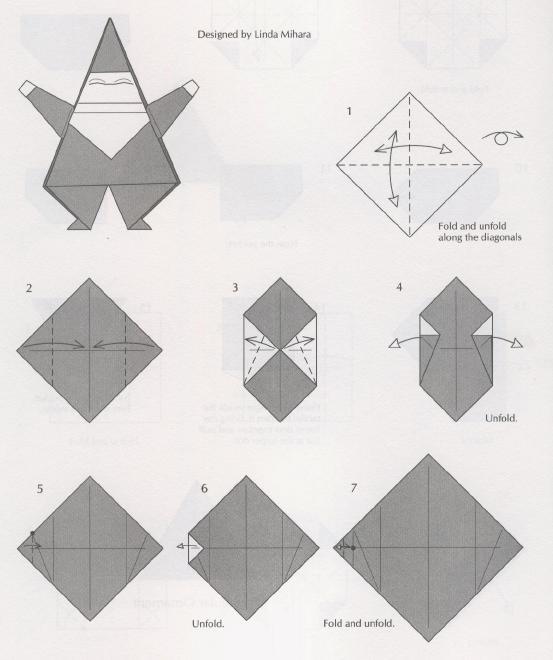 Поделки из бумаги на новый год оригами