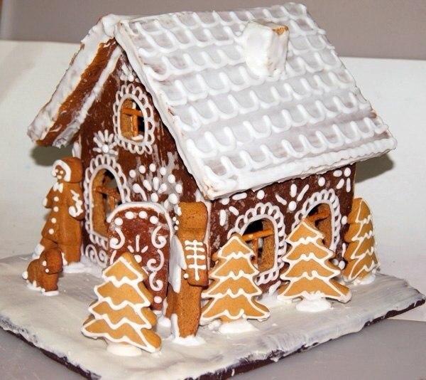 рецепт пряничный домик с фото
