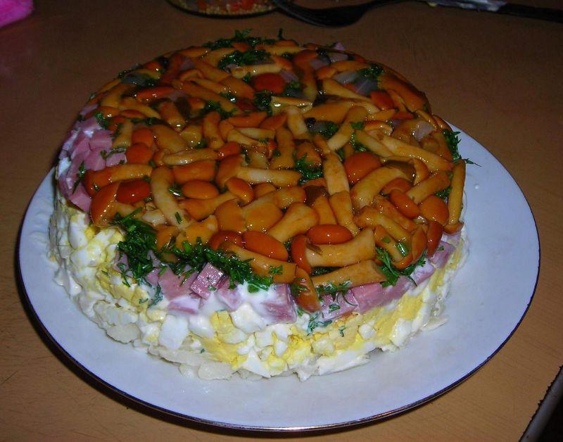 Вкусные салаты на день рождения с и рецептами с шампиньонами