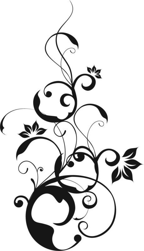 Черно белые картинки узоров