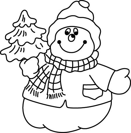 Раскраска деда мороза для детей