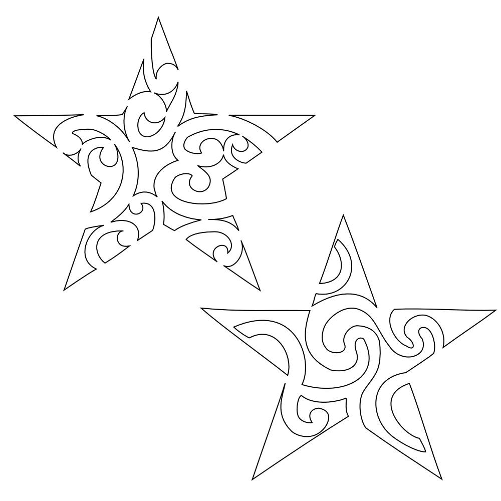 вифлиеемская звезда объемная схема для начинающих