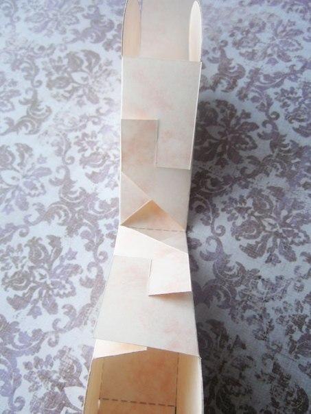 Красивая бумажная коробочка своими руками