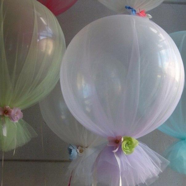 Воздушные шарики украсить своими руками