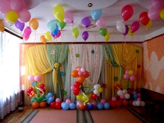Как сделать гирлянду на день рождения ребенка