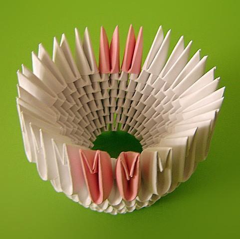 Оригами из бумаги лебедь схема сборки фото 609