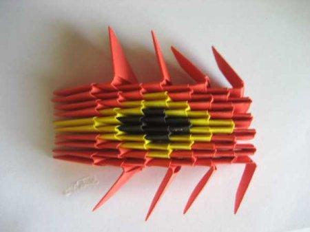 модульного оригами Дракон