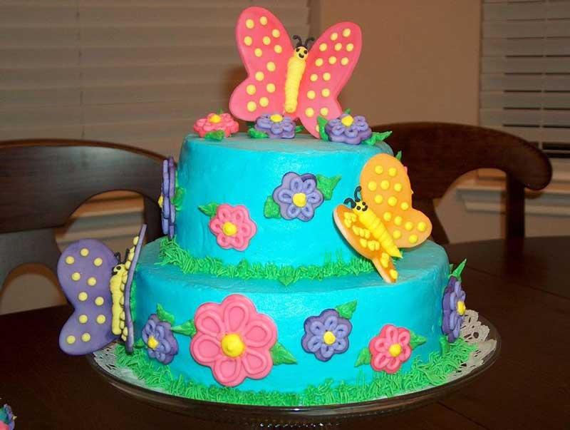 Торты для детей на день рождения своими руками фото