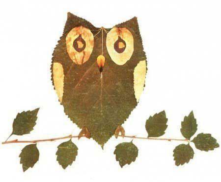 поделки из гербария