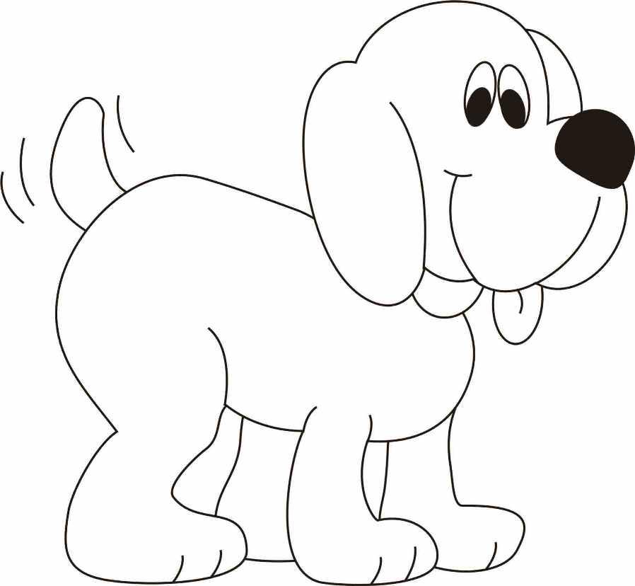 раскраски собаки скачать бесплатно