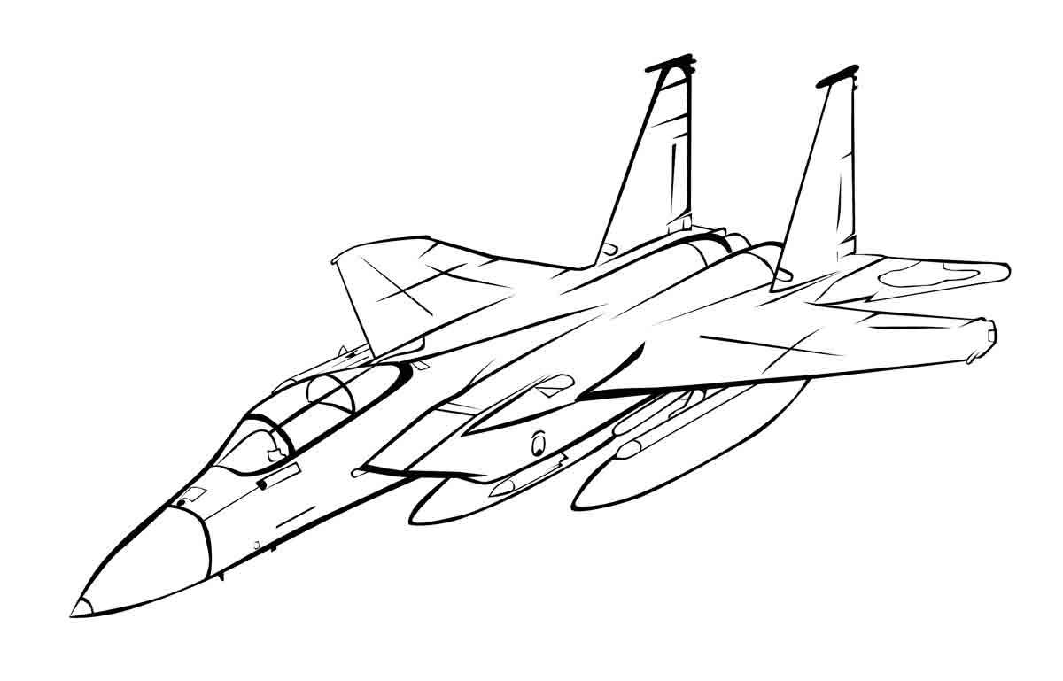 Картинка самолета на 23 февраля