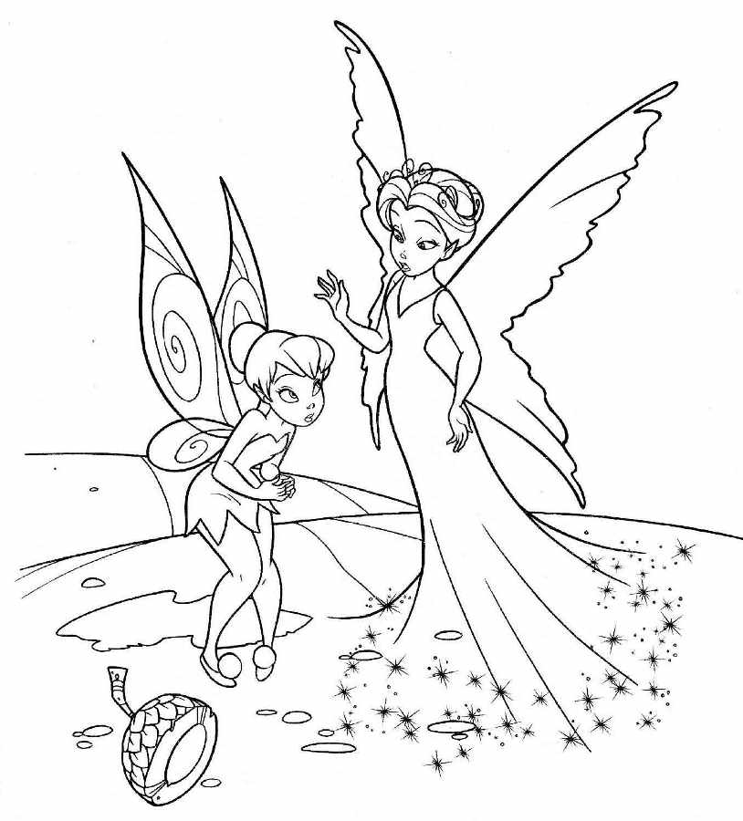 fairy queen coloring pages - free coloring pages of great fairy rescue
