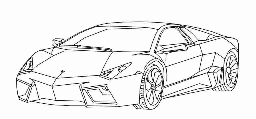 как рисовать машину ламборджини для взрослых