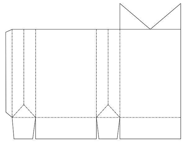 Из бумаги своими руками схемы развертки шаблоны