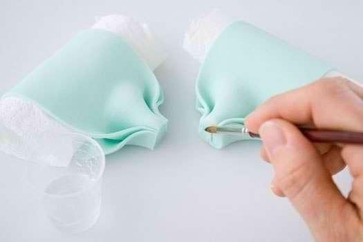 Банты из мастики своими руками пошагово