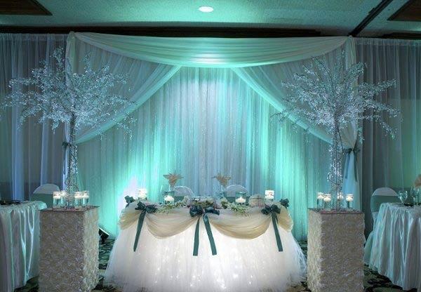 Украшение зала на свадьбу фото своими руками