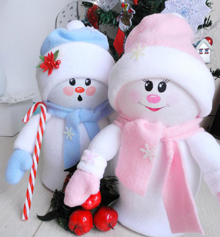 Сделать снеговика своими руками картинки