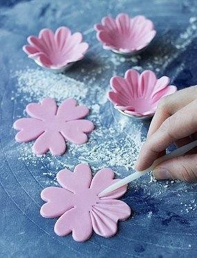 Фото цветов из мастики 94
