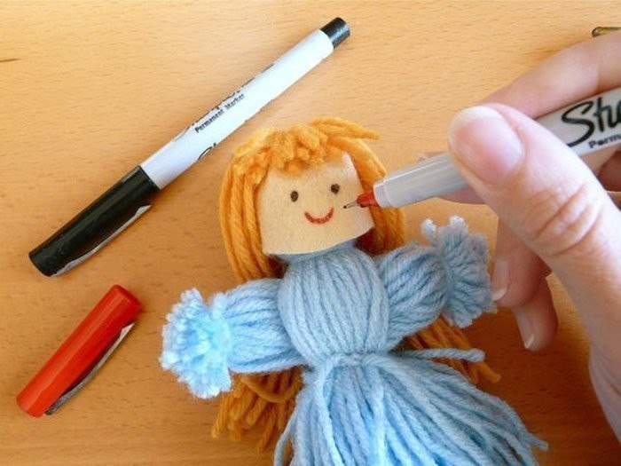 Сделай своими руками куклу картинки