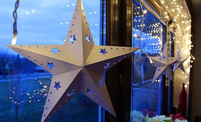 Объемная звезда из бумаги своими руками на 9 фото 381