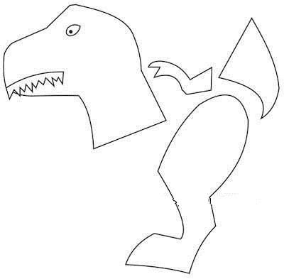 Динозавры своими руками из бумаги с шаблонами