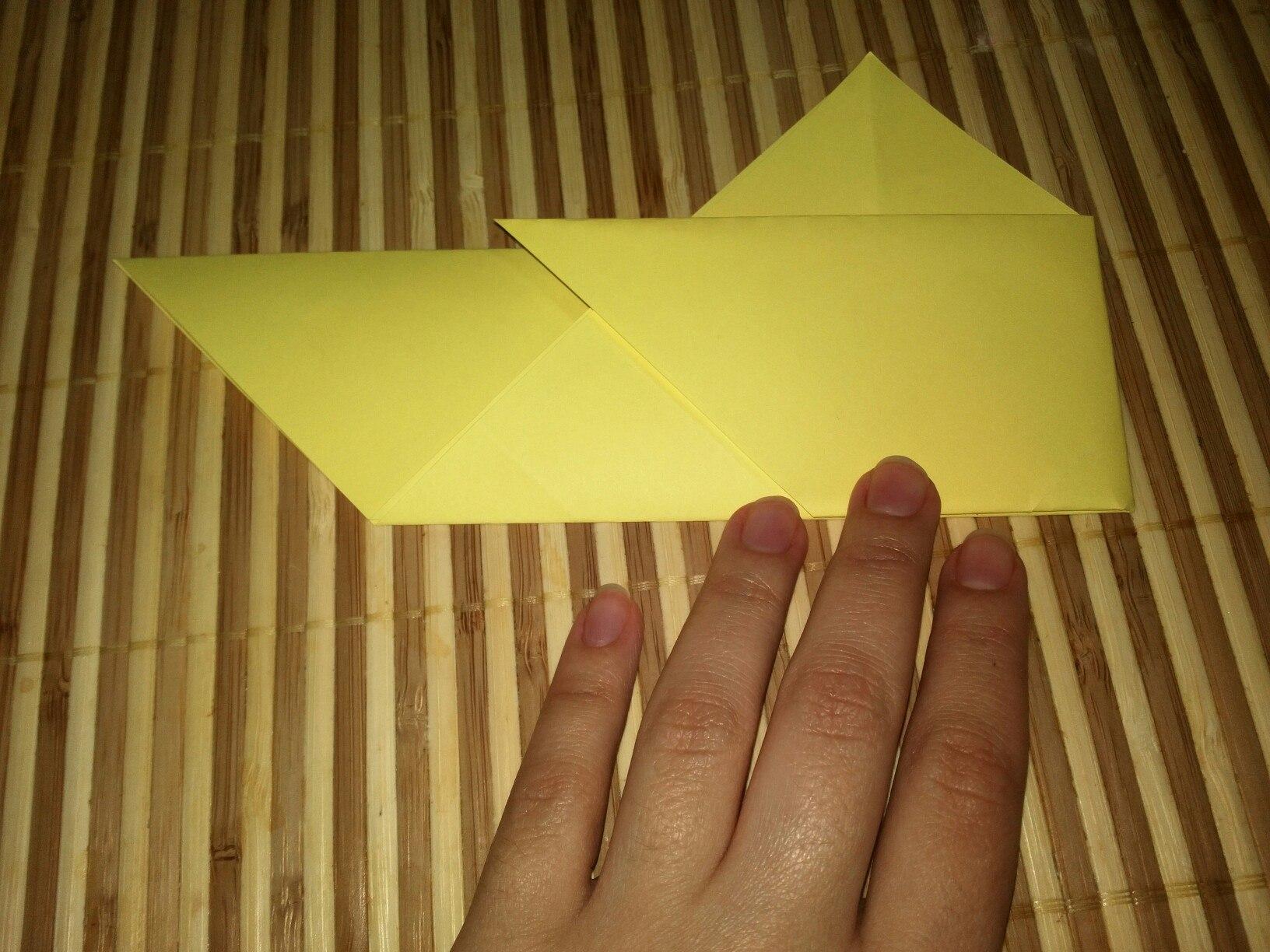 Как сделать летучую мышь оригами фото 512